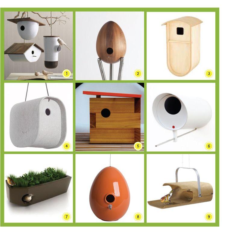 Modern Bird Houses