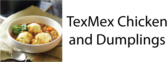 TexMex Chicken and Dumplings